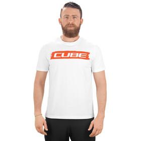 Cube Logo 2.0 T-Shirt Herr white'n'red